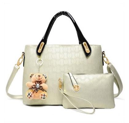 Set ženskih torbic (bel)