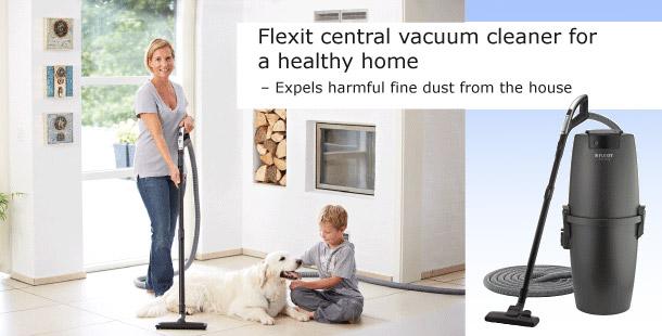 Centralni sesalec Flexit