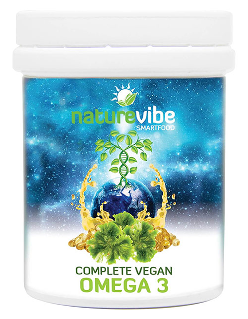 Kapsule NatureVibe Complete Vegan Omega 3