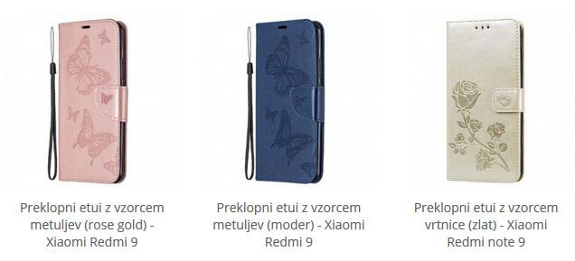 Preklopni etuiji za Xiaomi Redmi 9